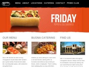 Buona Restaurants And Catering