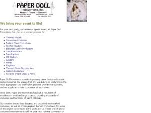 Paper Doll Promotions