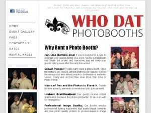Who Dat Photobooths