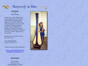 Harpsody in Blue