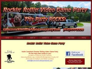 Rockin' Rollin' Video Game Party - Fayetteville