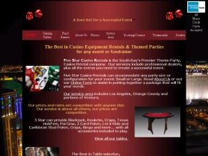 Five Star Casino Rentals