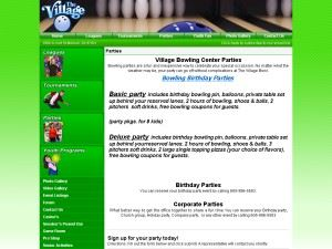 Village Bowling Center