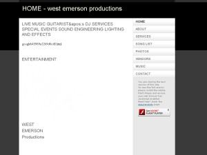 West Emerson Productions