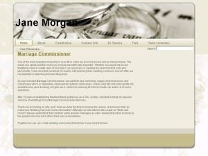 Jane Morgan's Marriage Commissioner & DJ Services