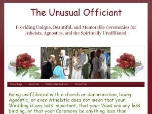 The Unusual Officiant