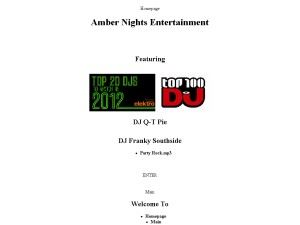 Amber Nights Entertainment