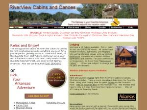 RiverView Cabins & Canoes