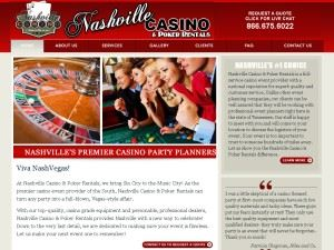 Nashville Casino and Poker Rentals