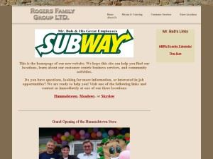 Rogers Family Group Subways