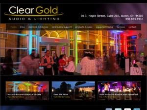 Clear Gold Audio & Lighting