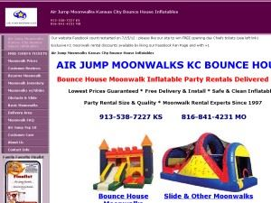 Air Jump Moonwalks KC Bounce House