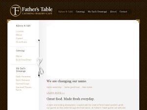 Father's Table Catering