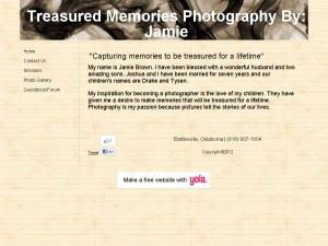 Treasured Memories By Jamie