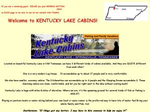 Kentucky Lake Cabins