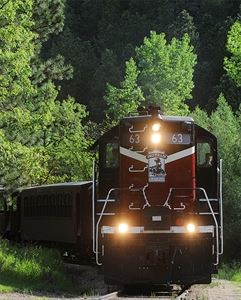 1880 Train, Black Hills Central Railroad