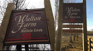Walton Farm on Buffalo Creek