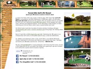 Forest Hills Golf & RV Resort