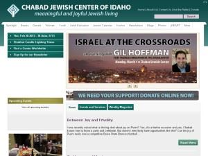 Chabad Jewish Center Of Idaho