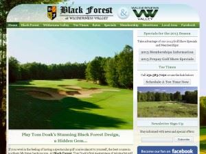 Black Forest and Wilderness Valley Golf Course