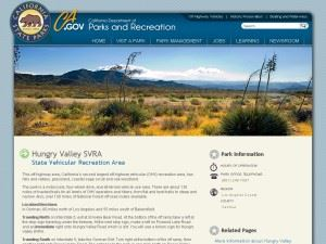 Hungry Valley State Vehicular Recreation Area