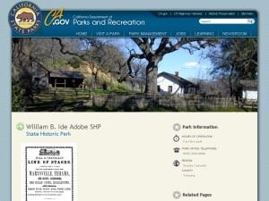 William B. Ide Adobe State Historic Park