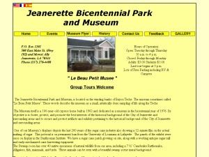 Jeanerette Bicentennial Park and Museum
