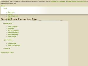 Ontario State Recreation Site