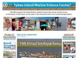 The Tybee Island Marine Science Center