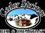 Cedar Springs Bed & Breakfast