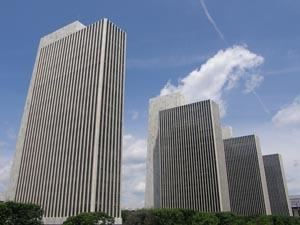 Empire State Plaza in Albany