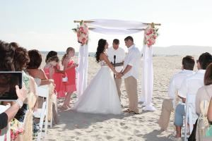 Seaside Wedding San Diego