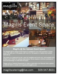 Magills Uptown Event Space