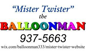 Mister Twister the Balloonman