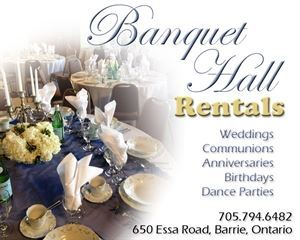 Barrie Banquet Hall Rentals (Holy Spirit Parish)