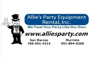 Allies Party Equipment Rental, Inc.
