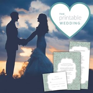The Printable Wedding