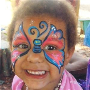 Happyfaces.biz  Face Painting Clowns Magic Dora Caricatures - St Paul