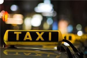 T VAlley taxi cab