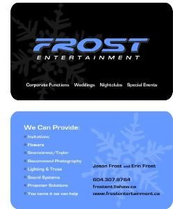 Frost Entertainment