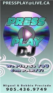 Press Play DJ Service