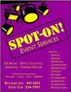 Spot-On! Event Services
