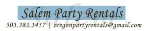 Salem Oregon Party Rentals