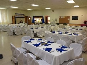 Des Moines Masonic Lodge #245 -- banquet hall for rent